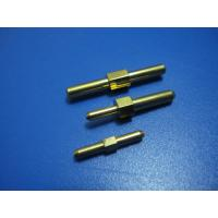 Mechanical Precision CNC Turned Components,Brass Pins Electronic Parts, With Zinc Plating Manufactures