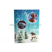 Lenticular Custom 3d Stickers With Offset Printing For Greeting Card Manufactures