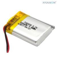 Quality Rechargeable Lithium Polymer Lifepo4 Battery Cells 502035 602030 702030 3.7V 300mAh for sale
