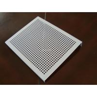 China Durable Decorative Perforated Aluminum Sheet With Holes High Accuracy on sale