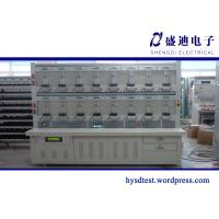 Quality Integration Double Loop Single Phase Energy Meter Test Bench for sale