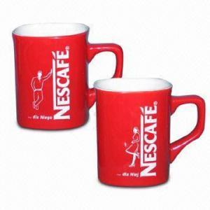 Ceramic Mug with FDA and EEC Food Contact Safe Standard Manufactures
