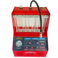 Quality Ultrasonic Fuel Injector Cleaning Machine 230W 60*60*42cm CE New Arrival for sale