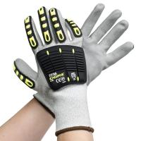 PU Palm Coated Cut Proof Work Gloves Industrial Glass Handing Customized Logo Manufactures