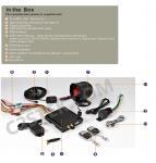 GSM/GPRS/GPS Car Alarm System GPS-1200 Manufactures