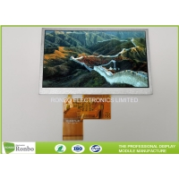 China 5.0 Inch 480x272 RGB 40pin TFT LCD Display Replace INNOLUX AT050TN33 on sale