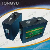 Ultraportable Electric Tricycle LiFePO4 Rechargeable Battery 36V 20Ah For Golf scooters Manufactures