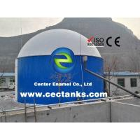30000 Gallon Glass Lined Steel Agricultural Water Storage Tanks With Low Maintenance Cost Manufactures