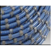 diamond wire saw for granite quarries with 37 beads Rubber fixing Manufactures