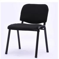 Black Ergonomic Office Chair Fixed Armrest Mesh + Foam Seat Material Manufactures