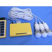 Buy cheap solar power system 3W solar system with lithium battery for solar home LED light from wholesalers