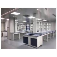 China Floor Mounted Factory Chemistry Laboratory Work Table With Storage on sale