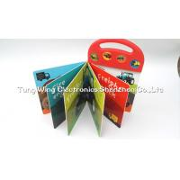 China Toy Trucks Button Sound Book , interactive sound books for children on sale