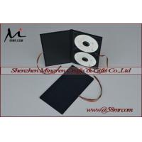 Quality Double Cotton Fabric Linen DVD CD Cover for sale