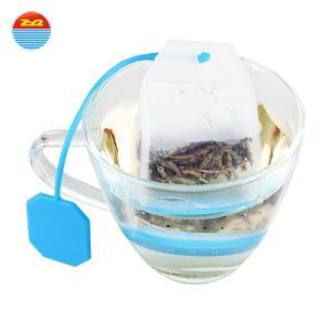 Custom shape bpa free hot herbal coffee empty dip hot selling silicone tea bag infuser set for loose tea Manufactures
