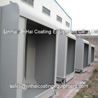 Industrial Metal Frame Powder Coating Painting Booth Manufactures