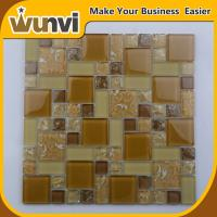 China Proffesional Glass Mosaic Wall Tiles Craft  Projects Building Material 8mm on sale