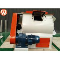 500 KG/P Horizontal Feed Mixer Double Shaft Paddle With Siemens Motor High CV Manufactures