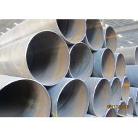 China Black / Galvanized Spiral Pipe High Performance For Gas / Oil Transmission on sale