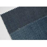 China Tear - Resistant 9oz Denim Jeans Material For Shirt Soft Touch on sale