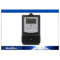 Buy cheap LCD Display Single Phase Watt Hour Meter , Electric Watthour Meter DDS1088M from wholesalers