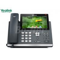 China Video Conference Cisco Voip Phone System , Cisco Wireless Ip Phone Yealink SIP-T48G T4 on sale