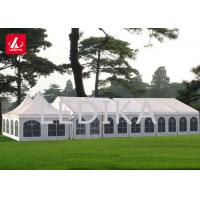 Aluminum Trussed Frame Shelter / Large Storage Tent With PVC Cover Manufactures