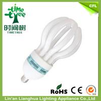 Mini Mixed Powder T5 85 W Lotus CFL Energy Efficient Light Bulbs With PPT / PP Plastic Manufactures