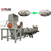 Large Capacity Plastic PP PE Film Washing Line Plant For Waste Films Recycling Manufactures
