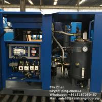 Quality Oil Lubricated Screw Air Compressor / 50hp 45kw 116psi Air Cooled Stationary Instrument for sale