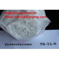 Pharmaceutical Bodybuilding Male Enhancement Steroids Raw Testosterone Powders CAS 58-22-0 Manufactures