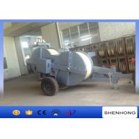 China 500KV 22 Ton Hydraulic Puller Tensioner Stringing 2 Conductor Water Cooled Diesel Engine on sale