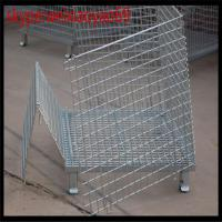 China 5.80mm wire ,1.0m*0.8m*0.84m storage  cage /pallet cage/security cage/wire cage/steel storage cabinets/metal bin on sale