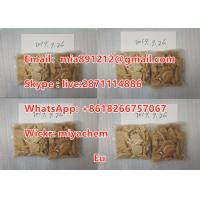 China Eutylone Safety Research Chemical Stimulant EU light yellow or brown color crystal rc factory supply BMDP on sale