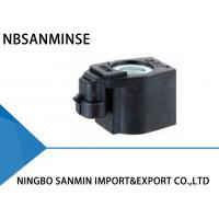 SL140 Plug Type 16W DC Solenoid Coil , Electrical Equipment Coil For Solenoid Valve Manufactures