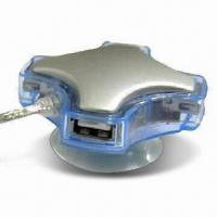 4-port USB 2.0 Hub with 480Mbps High-speed Data Transfer Rate Manufactures