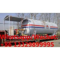 customized 50,000Liters skid propane gas station with 4 electronic filling scales for sale, mobile skid lpg gas plant Manufactures