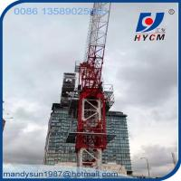 QTD4522 Luffing Jib Tower Crane 6 ton Construction Crane for High Rise Building Manufactures