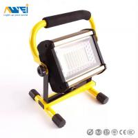 China Portable 50W Exterior LED Flood Lights Rechargeable Industrial Flood Light on sale