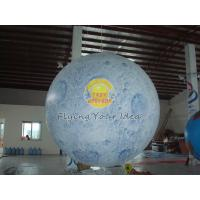 Big Reusable Inflatable Advertising Earth Globe Balloons for science demonstration Manufactures