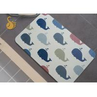 China Quick Dry Diatomite Bath Shower Mats Non Slip Foot Mat Durable Wear-resisting on sale