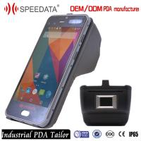Industrial wireless Mobile Phone PDA Handheld with Fingerprint NFC Scanner Manufactures