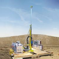 ISO9001 Certification Portable Core Drill Rig with 21MPa/max  54L/min Water cooler Manufactures