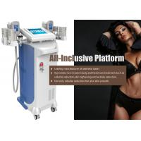 No Incisions Fat Freezing Device , Cavitation Rf Vacuum Slimming Machine Manufactures