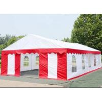 Wear Resistance Large White Tarp TC1010 UV Protection For Wedding Tent Manufactures