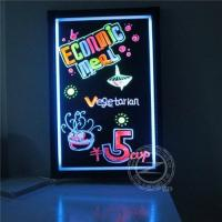 Fluorescent led writing board (ZD46CX) Manufactures
