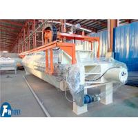 China Syrup Automatic Dewatering Chamber Filter Press With 1250mm*1250mm Filter Plate on sale