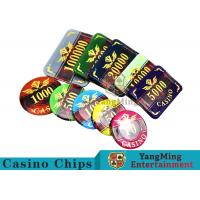 Texas Poker Plastic 760 Pcs Chip Set France Acrylic Casino Dedicated Chips Manufactures