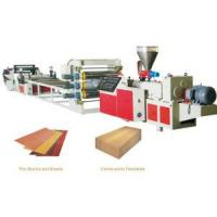 PVC + Wood Wide Plastic Foamed Sheet Extrusion Line Manufactures