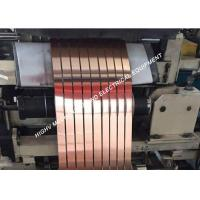 Reactor And Inductor Thin Copper Tape , Mirror Surface Copper Craft Foil Manufactures